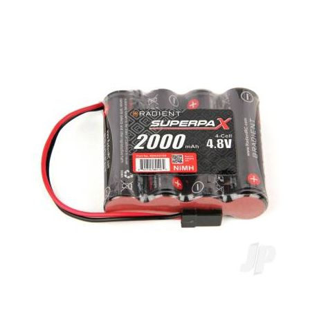 Radient NiMH Receiver Battery 4.8V 2000mAh AA