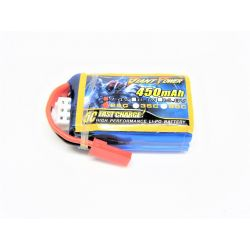 2s 7.4v 450mAh 25c Giant Power LiPo