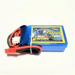 2S 7.4V 850mAh 35C Giant Power LiPo Battery