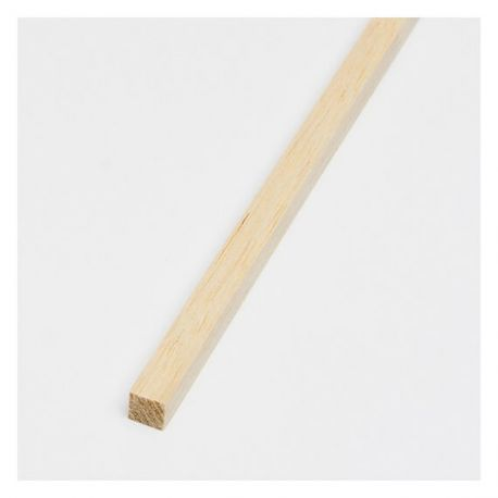 """6.35x6.35mm Balsa Strip 1/4x1/4x36"""""""
