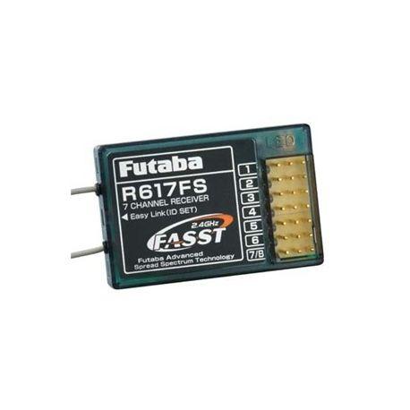 7ch Rx FASST 2.4GHz P-R617FS/2-4G