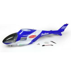 TWISTER POLICE HELICAM BODY SET (WITH LED)