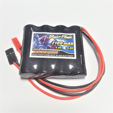 4.8v 2100Mah Low Self Discharge NI-MH RX PK