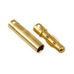 4 mm gold bullet connectors