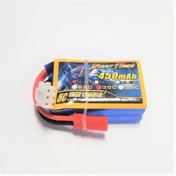 2s 7.4v 450mAh 35c Giant Power Hubsan Spyhawk