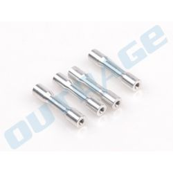 OUTRAGE Velocity 50/550 Aluminum CNC Frame Spacers