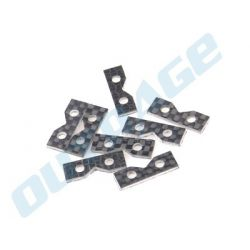 OUTRAGE 550 Helicopter/fusion 50 Carbon Fiber Servo Spacers