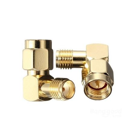 SMA Male To Female Adapter Right Angle 90°