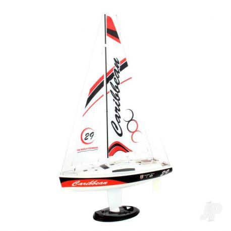 Joysway Caribbean Yacht 2.4GHz RTR Red