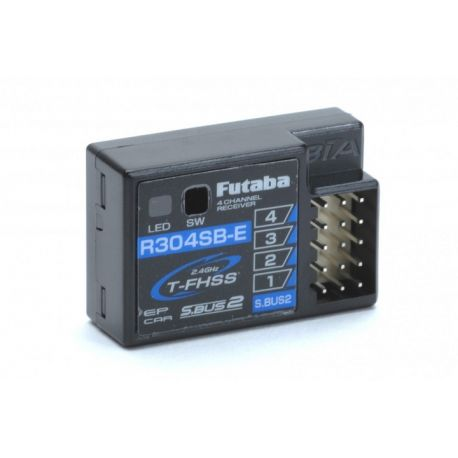 Futaba 4 Ch Rx T-FHSS 2.4GHz (Electric)