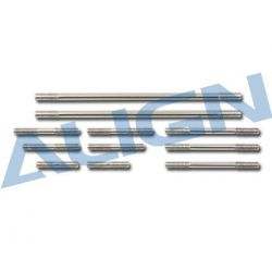 Align Trex 600E Pro Parts Linkage Rod Set H60223