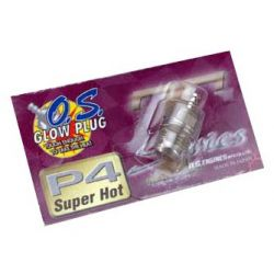 OS Engine Glowplug Type P4 (Super Hot)