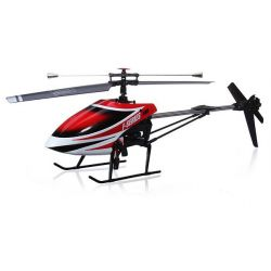 MJX F49 Single Rotor Helicopter Complete Red