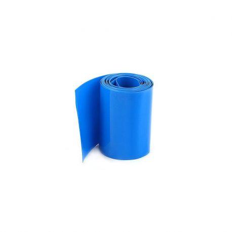 "30mm Transparent Blue PVC Heat Shrink 12"""