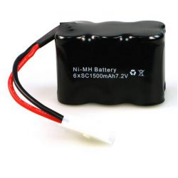 Rock Crawler Battery 7.2V 1500mAh NiMH