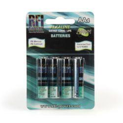 Alkaline AA Pencells Batteries 1.5V (4)
