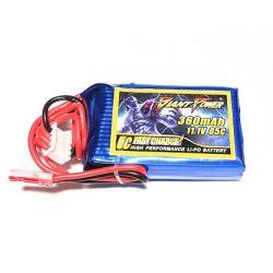 3s 11.1v 360mAh 65c Dinogy Lipo Battery