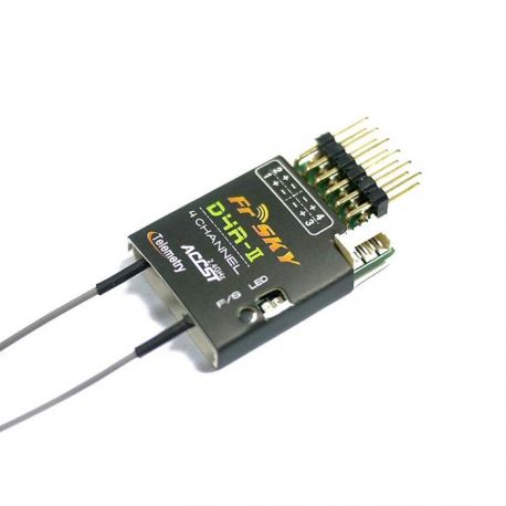 FrSky D4R-II 4ch ACCST Telemetry Receiver