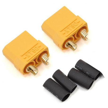 XT90 Connectors 5mm Male & Female Pair