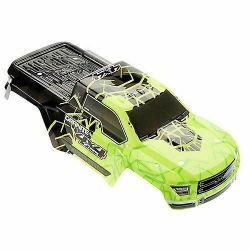 Arrma Granite Body Painted/Decal Green 4x4 Mega