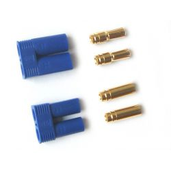 EC5 Gold Plated Connectors 5mm (pair)