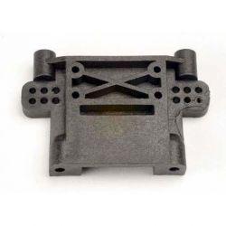 Traxxas Nitro Rustler Rear Bulkhead (Black) TRA4192
