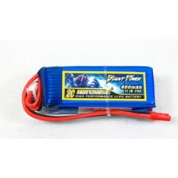 Giant Power 3S 11.1volts 800Mah 25C Lipo battery
