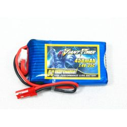 Giant Power 2S 7.4volts 450Mah 35C Lipo battery