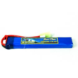 Giant Power Airsoft Lipo Battery 7.4v 1300mah 15c
