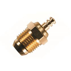 O.S Turbo Glowplug Speed P4 Gold Plated