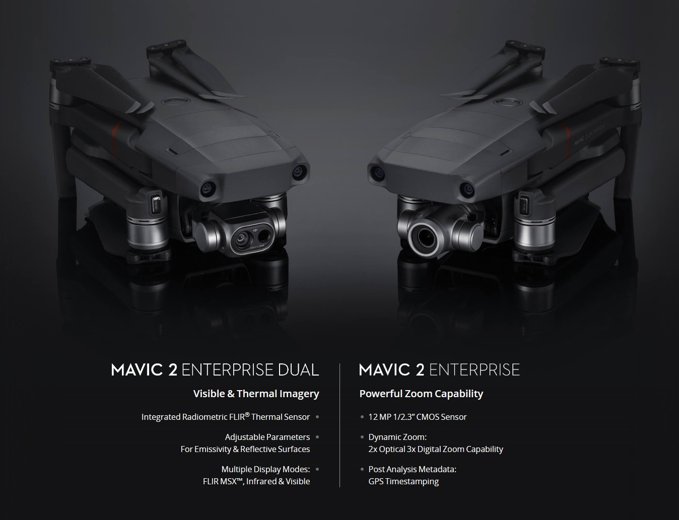Dji Mavic 2 Enterprise Dual Rgb Amp Thermal Sensors Mavic2